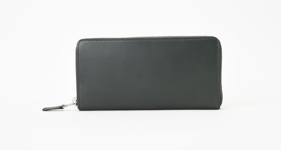 ラウンドファスナー型長財布