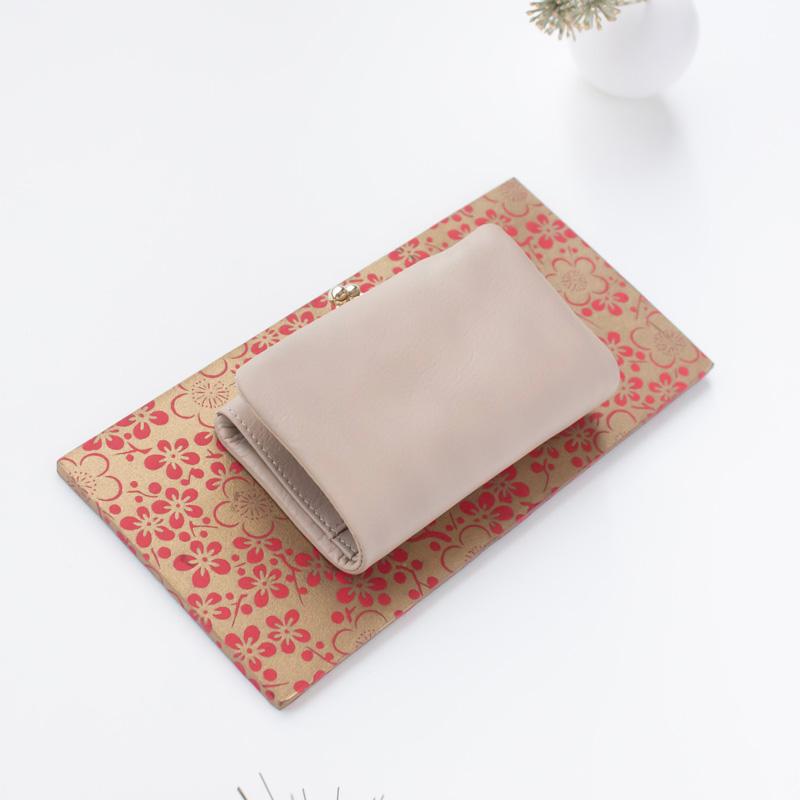 フェルモ がま口二つ折り財布
