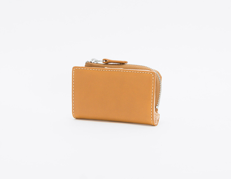 パーム キーリング付きミニ財布