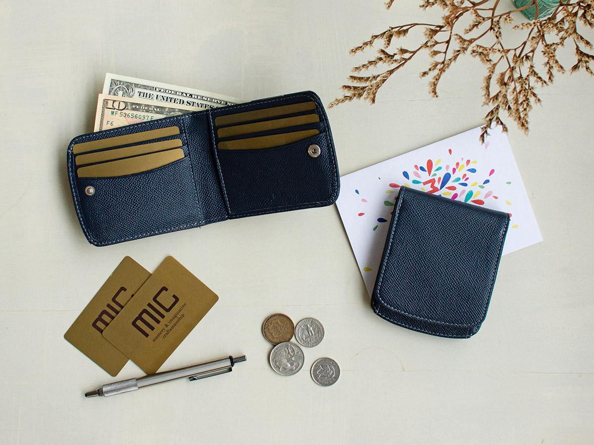 エンボス ヒップポケット外ボックス小銭二つ折り財布_03
