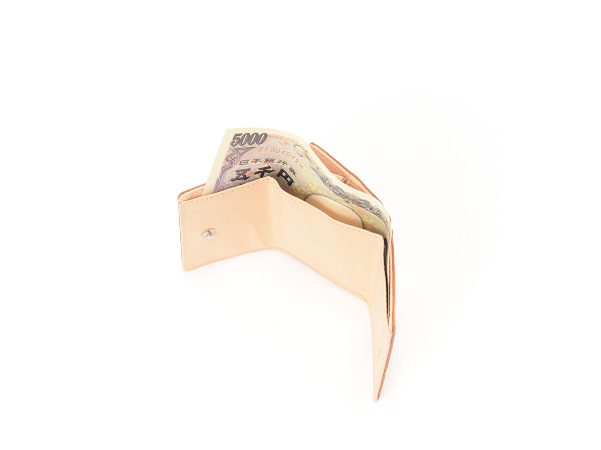 グレージングヌメ 三つ折りミニ革財布_detail_image_02