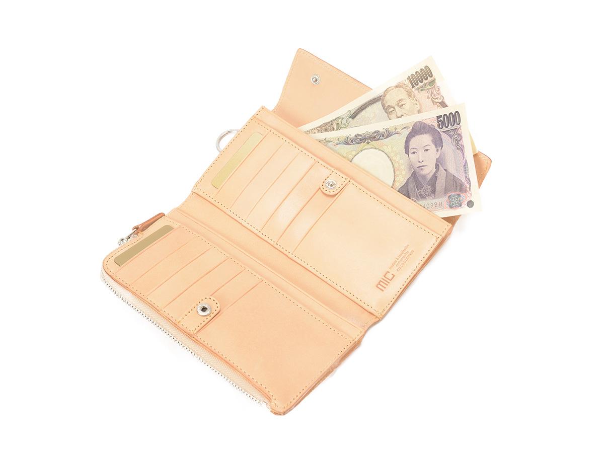 グレージングヌメ ヒップポケット三つ折長財布_02
