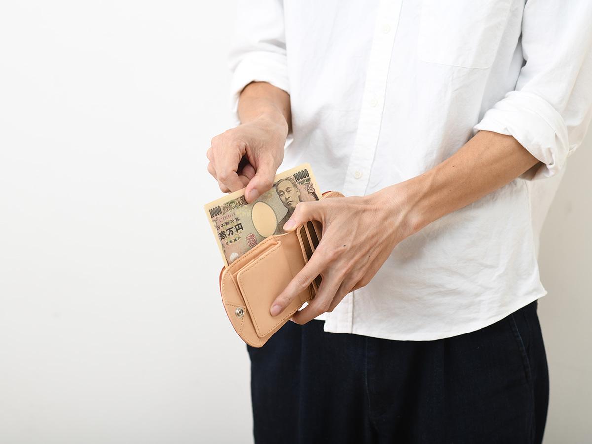 バグッダ ヒップポケット革財布(小銭入れ付き)_03