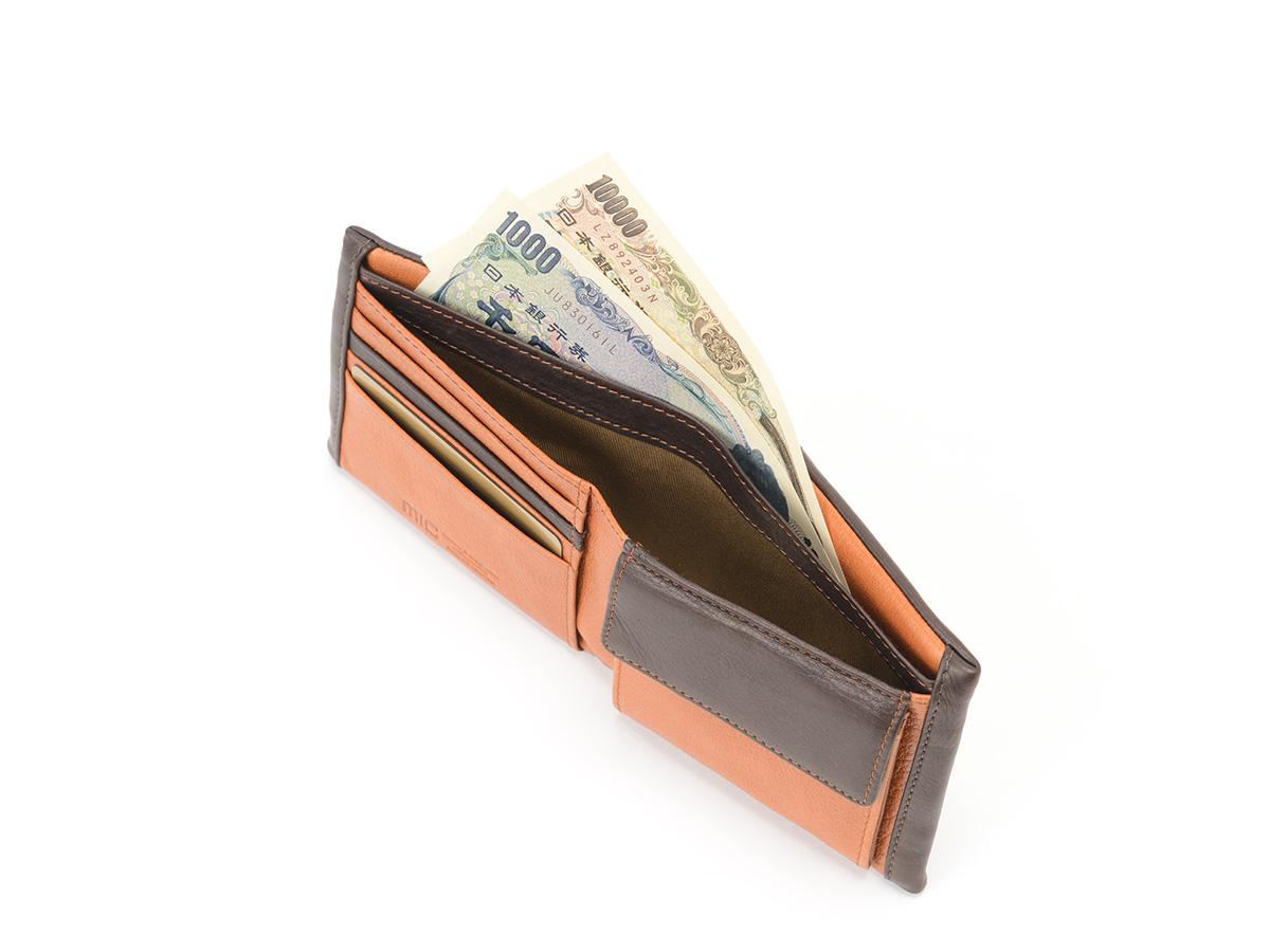 マイルドキップ 二つ折り革財布_02