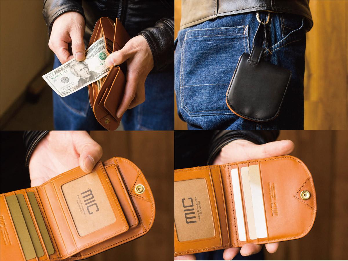 クロムエクセル ヒップポケット革財布(小銭入れ付き)_03