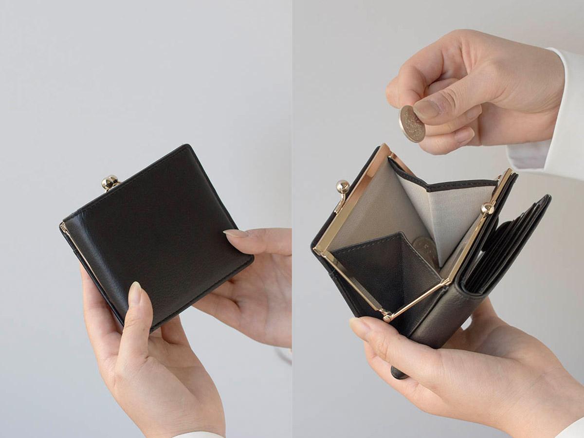 フェルモ 外がま口二つ折り財布_02