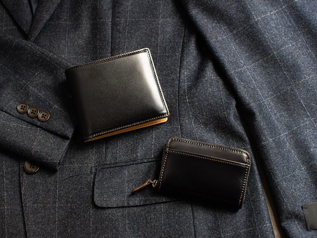 コードバン 二つ折り財布(小銭入れ無し)_detail_image_05