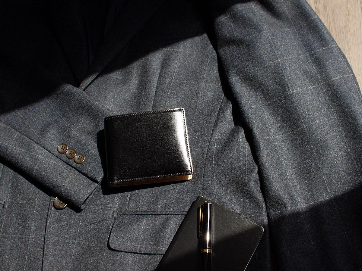 コードバン 二つ折り財布(小銭入れ無し)_02