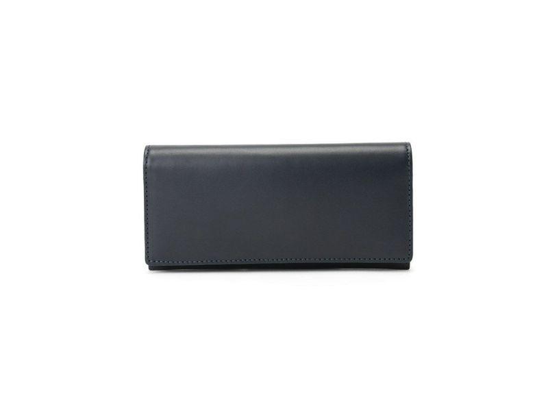 ペコスショルダー 長財布(小銭入れ付き) ネイビー