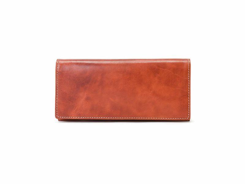 バグッダ 長財布(小銭入れ付き) レッド