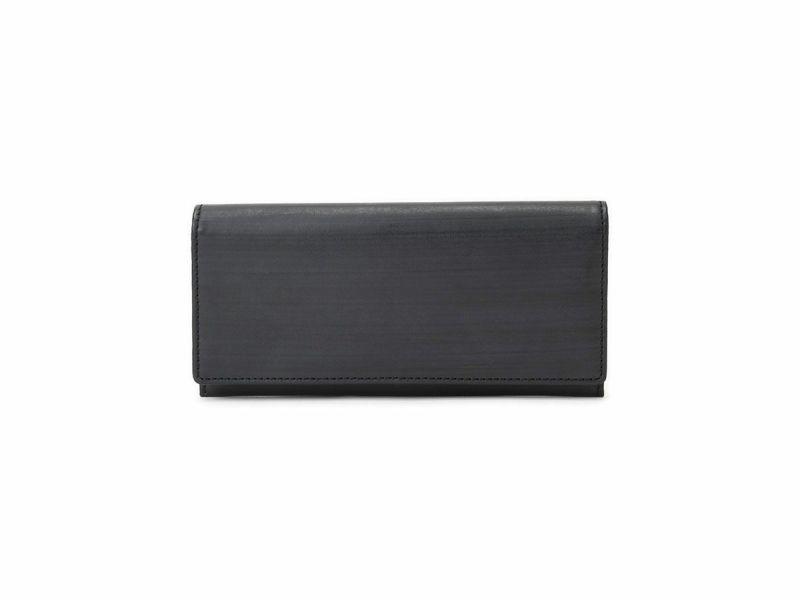ブライドルレザー 長財布(小銭入れ付き) ブラック