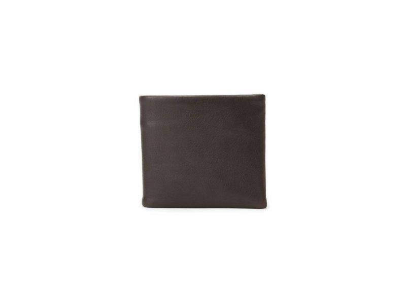 マイルドキップ 二つ折り革財布 チョコ