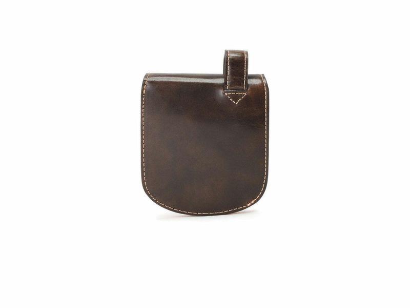 バグッダ ヒップポケット革財布(小銭入れ・中ベラ付) チョコ