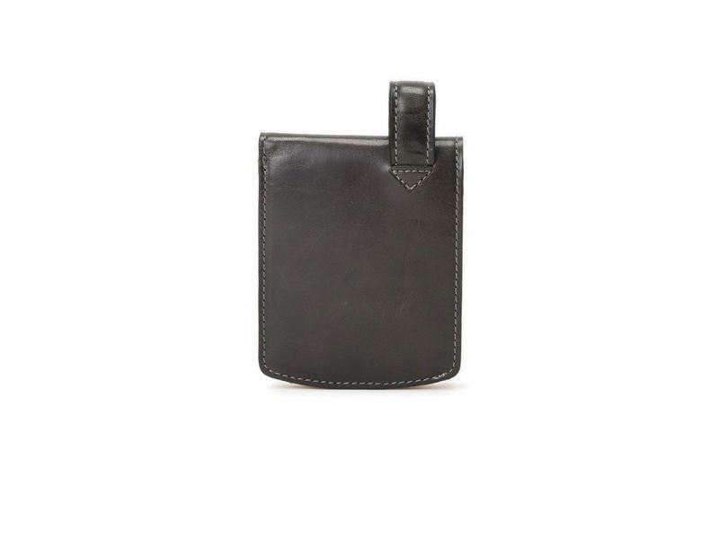 バグッダ ヒップポケット 二つ折りカード収納財布 ブラック