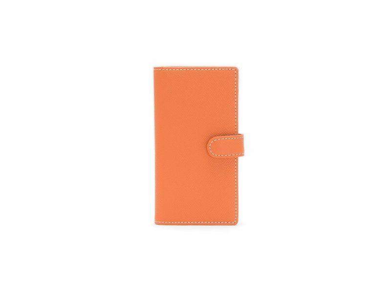 エンボス スマートフォンケース(小)  オレンジ