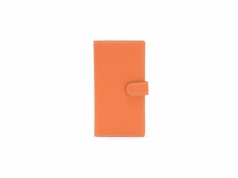 エンボス スマートフォンケース(小) |オレンジ