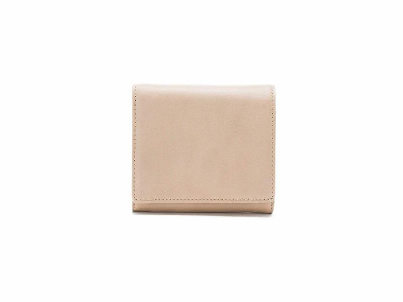 フェルモ 中がま口財布|ベージュ