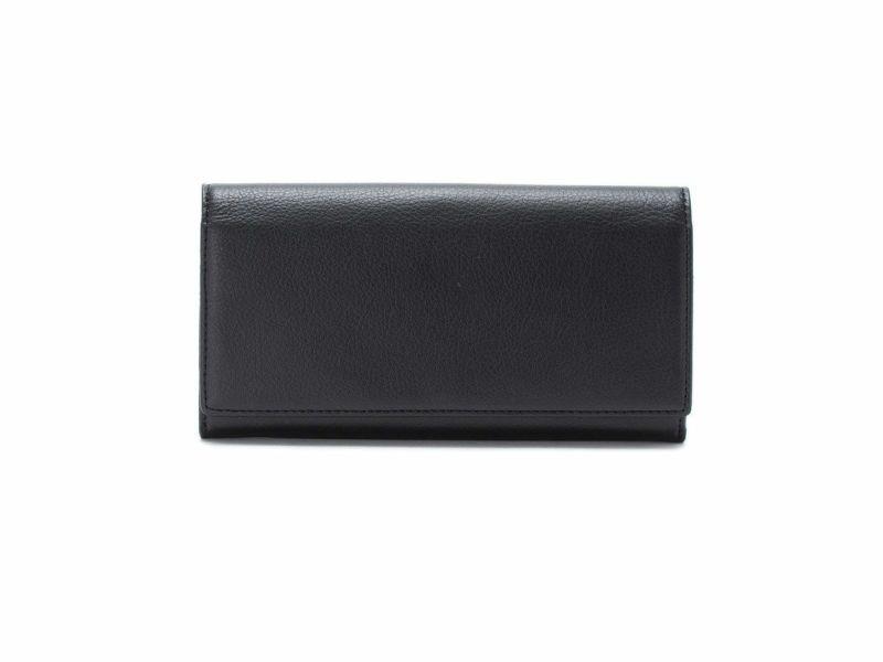 フェルモ 中がま口長財布 ブラック
