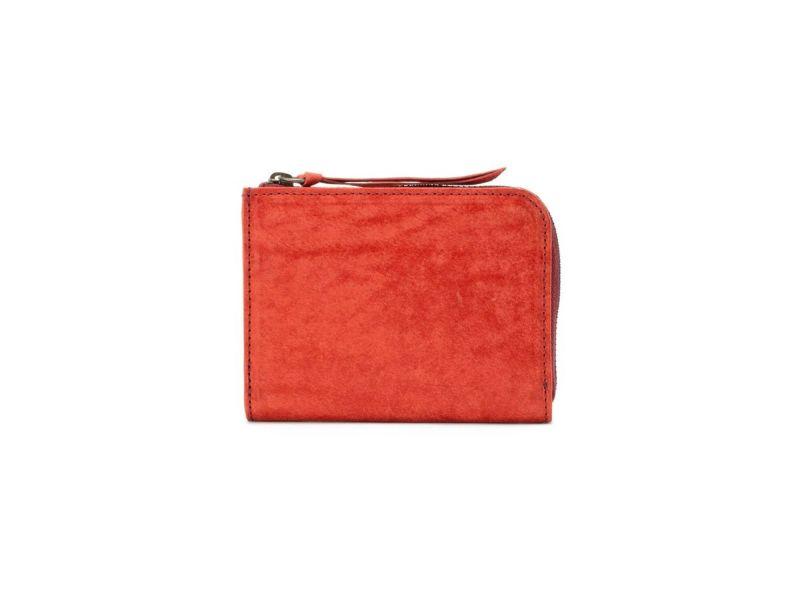 マヤ L字ファスナー財布(キーチェーン付き)ブラック